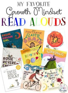My Favorite Growth Mindset Read Alouds - 3rd Grade Thoughts