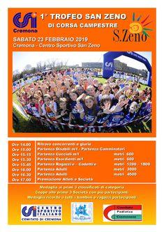 Trofeo San Zeno di Corsa Campestre 2019 - 1a edizione si svolgerà il giorno 23/02/2019 a Cremona (Cr) sulla distanza di 4.5Km. #corriqui