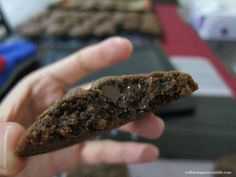 Red + Black Apron — Milo Chocolate Chip Cookies