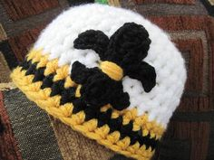 SaiNTs bABy hAT by wiLDaBoUtCoLoR | Crocheting Ideas - Find out more about wiLDaBoUtCoLoR'sCrocheting project SaiNTs bABy hAT on Craftsy! - via @Craftsy