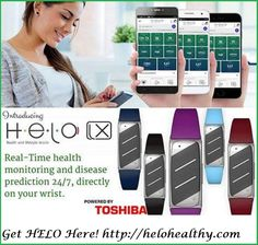 H∙E∙L∙O is the world's most advanced wearable technology! * Remote health https://www.youtube.com/watch?v=xhdTEfa9J4s&t=4s More Info: https://www.youtube.com/watch?v=Vym5DiCYglI Get Your Helo Here: http://helohealthy.com ---------------------------------