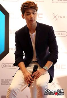"""CNBLUE @ CNBLUE LIVE """"Can't Stop"""" in Hongkong Press Conference"""