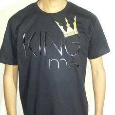 Black/Black King Me Tee $30 https://www.weirdartsociety.com/product/weird-art-society-king-me-carbon-fiber-black-tee/