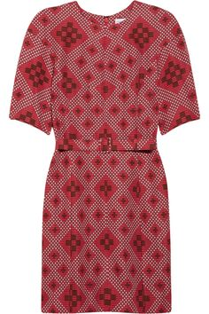 Jonathan Saunders|Emile printed cotton-blend dress|NET-A-PORTER.COM