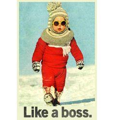 Like a Boss poster – Buy Me Brunch