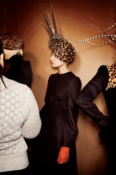 The Kentucky Derby always calls for some serious millinery. Hats off to these headpieces in Vogue.