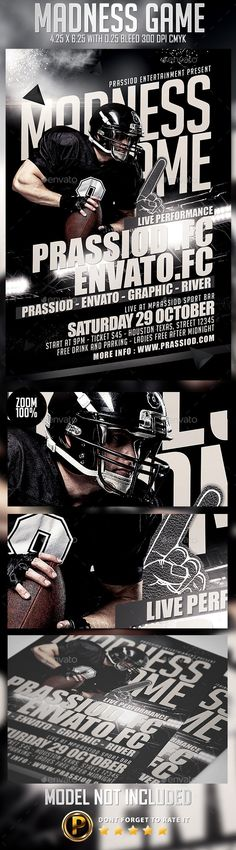 Football Flyer Template Flyer template, Event flyers and Font logo - competition flyer template