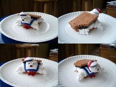 To promote fireworks and firebowls? marshmallow mascot - Google Search