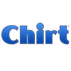 Chirt Logo Designed by Spectra Marketing Solutions.    Need graphic design? visit www.spectrams.com