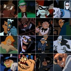 "all batman characters | If you're into ""top episodes"" sort of videos, check out That Guy ..."