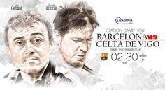 Barcelona vs Celta de Vigo (Design:Abdillah/Liputan6.com)