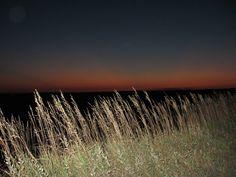 Sunset - The Badlands, South Dakota.