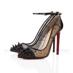 Christian Louboutin Picks & Co Potpourri Spiked Toe & Lace Red Sole Pump media gallery on Coolspotters. See photos, videos, and links of Christian Louboutin Picks & Co Potpourri Spiked Toe & Lace Red Sole Pump. Stilettos, Pumps Heels, Louboutin Pumps, Strap Heels, Ankle Straps, Cl Fashion, Fashion Heels, Fashion Outfits, Cheap Fashion