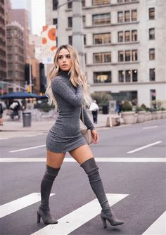 18 Sexy Outfits for Your First Date in Summer - Sexy Outfit Ideas, Unraveled Sweater Dress Source by - Sweater Outfits, Fall Outfits, Cute Outfits, Sweater Dress Boots, Sexy Winter Outfits, Classy Sexy Outfits, Spring Outfits Women Casual, Cute Sweater Dresses, Diy Outfits