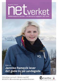 NETverket nr.2-2016. CarciNors medlemsblad tar opp tema som er aktuelle for alle som er rammet av NET-kreft. Les mer om - Jannike, Krafttak mot kreft, ENETS og mye mer