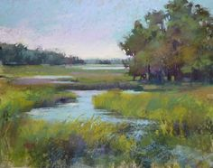 My Favorite Foreground Technique ....Marshes by Karen Margulis