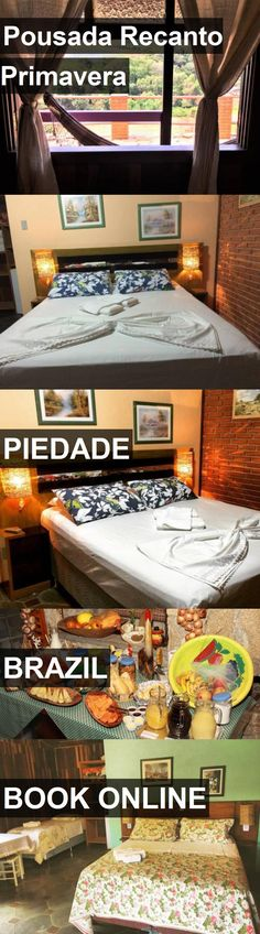 Hotel Pousada Recanto Primavera in Piedade, Brazil. For more information, photos, reviews and best prices please follow the link. #Brazil #Piedade #travel #vacation #hotel