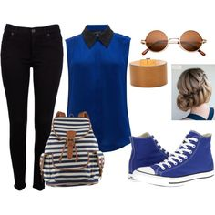 Blue by gretamield on Polyvore