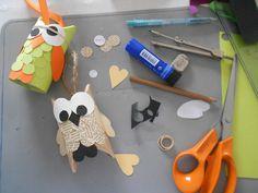 aouts-pins: Στο Craft Room της Χειροτέχνικα με κουκουβάγιες