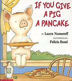 Buy a cheap copy of If You Give a Pig a Pancake book by Laura Joffe Numeroff. If you give a pig a pancake, shell want some syrup to go with it. Youll give her some of your favorite maple syrup. Shell probably get all sticky, so shell wan... Free shipping over $10.