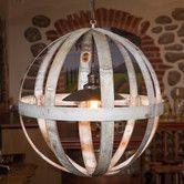 Found it at AllModern - Wine Hoop 1 Light Globe Chandelier