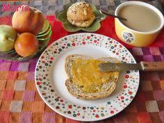 Mermelada de melocotón con vainilla. #mermelada #desayuno
