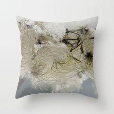 Winter Beauty Pillow Cover by BacktoBasicsPillows