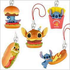 lilo and stitch toys | Disney Takara Tomy Capsule Toy Lilo and Stitch Burger Series 2