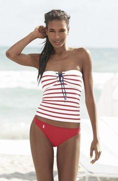 Ralph Lauren swimsuit.