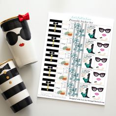 Decorate your planner for Fall like a French Cafe with this Printable Sticker Set! This file is designed to be printed at home onto8.5×11 full sheet labels! HOW TO ACCESS AND SAVE YOUR DOWNLOADABLE FILES Upon checkout, digital files willREAD MORE