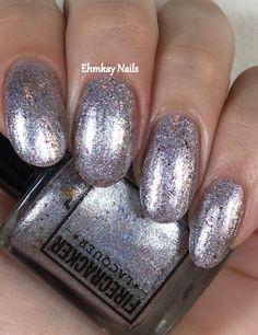 ehmkay nails: Firecracker Lacquer I Plead the Fifth
