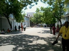 Visiting Pondicherry & roaming around the streets fascinated by the French colonial architecture.
