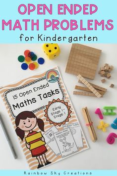 Check out these timesaving, open-ended maths problems suited to students in Kindergarten (extension), Grade 1 Teaching Numbers, Teaching Math, Teaching Ideas, School Resources, Math Resources, Early Years Maths, Problem Solving Activities, Math Questions, Primary Maths