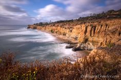 Sunset Cliffs in Ocean Beach, CA - Listed as one of our favorite places to photograph