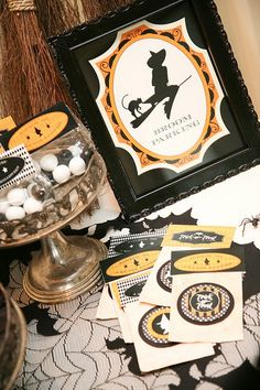 Bewitching Halloween Party,Kara's Party Ideas