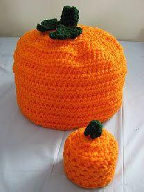 Large & Small Pumpkin Boxes Free Crochet Pattern