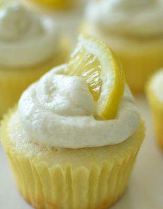 Lemon Cupcakes by Maurine Dashney