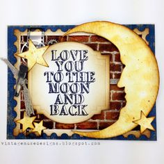 Stampers Anonymous CHA 2015 Card - Tim Holtz Life Quotes Stamp
