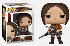 Animation Attack On Titan Ymir Ymir, Figurines Funko Pop, Funko Pop Figures, Pop Vinyl Figures, Pop Figurine, Attack On Titan Merch, Attack On Titan Season, Funko Pop Anime, Pop Custom
