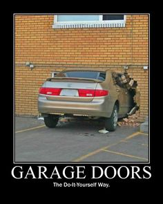 Make sure not to make this mistake! And if you do, A Plus is the right choice to fix you up with a new garage door.