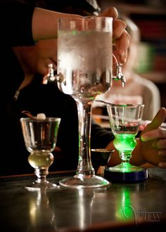 drinking Absinthe in New Orleans ....INDEED!