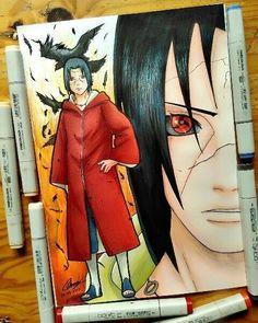 Naruto Shippuden Sasuke, Anime Naruto, Fan Art Naruto, Naruto Cute, Naruto Kakashi, Boruto, Naruto Sketch Drawing, Naruto Drawings, Anime Sketch