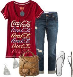 love the coca-cola shirt!