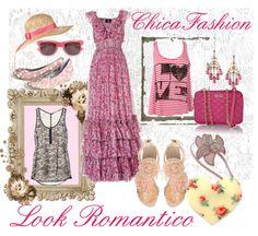 moda romantica chica fashion