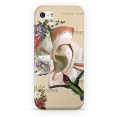 Case Sweet Little Song de @lagostadesregrada   Colab55 #colagem #partitura #floral #music #amor #vintage #musica #beijaflor #love #anatomia #case #flores #capacelular #Hummingbird