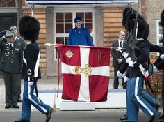 March past the Queen of Denmark.,,,yes your...Queen Magrethe