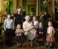 Queen Elizabeth 90th Birthday Photo by Annie Leibovitz.