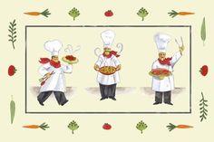 Three Chefs (Jennifer Brinley)