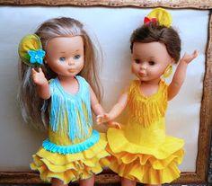 ANILEGRA COSE PARA NANCY: Como hacer un traje de flamenca para nancy , pepa , o cualquier otra muñeca , tutorial y patrones