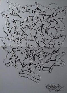 Graffiti, alphabets, fonts, letters - Art World Graffiti Art, Graffiti Writing, Graffiti Tattoo, Graffiti Designs, Graffiti Tagging, Graffiti Styles, Graffiti Lettering Alphabet, Chicano Lettering, Grafitti Letters